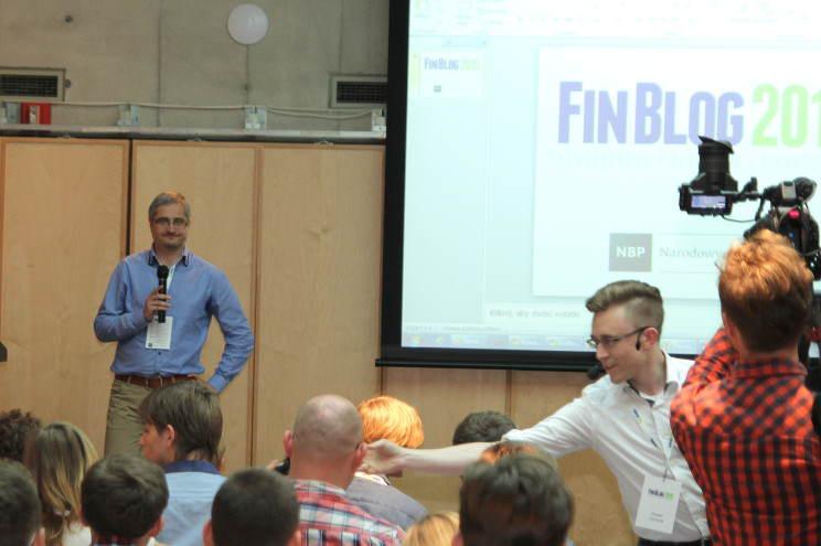 Maciej Samcik na Finblog