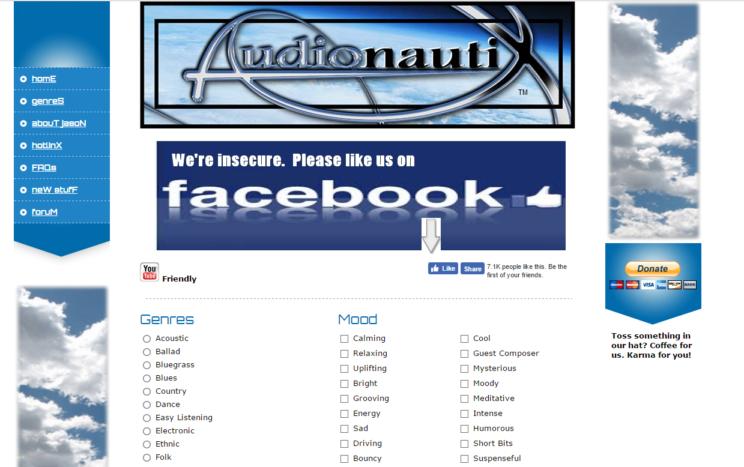 audionautix muzyka za darmo