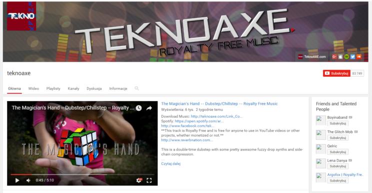 muzyka za darmo z Youtube